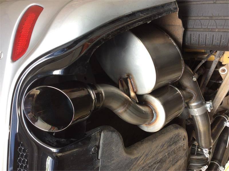 Corsa Sport Cat-Back Exhaust (Black): Jeep Grand Cherokee ...