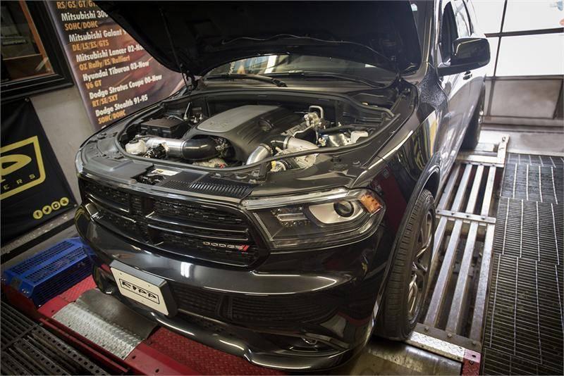 Ripp Supercharger Kit: Dodge Durango 5 7L Hemi 2011 - 2014