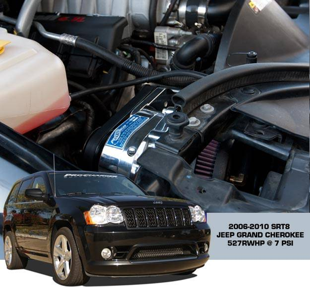 Jeep Supercharger Kits: Procharger Supercharger Kit: Jeep Grand Cherokee 6.1L SRT8