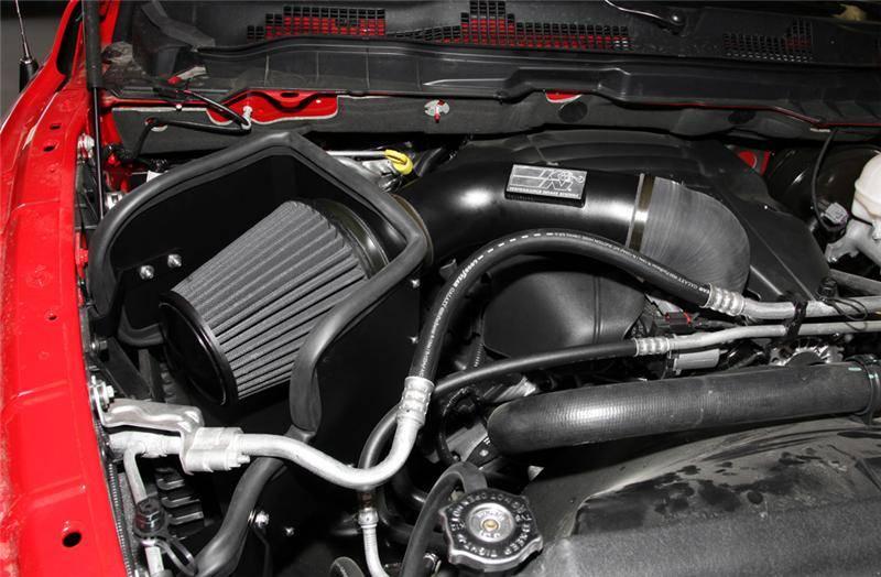 K Amp N 71 Series Cold Air Intake Dodge Ram 5 7l Hemi 2009 2017