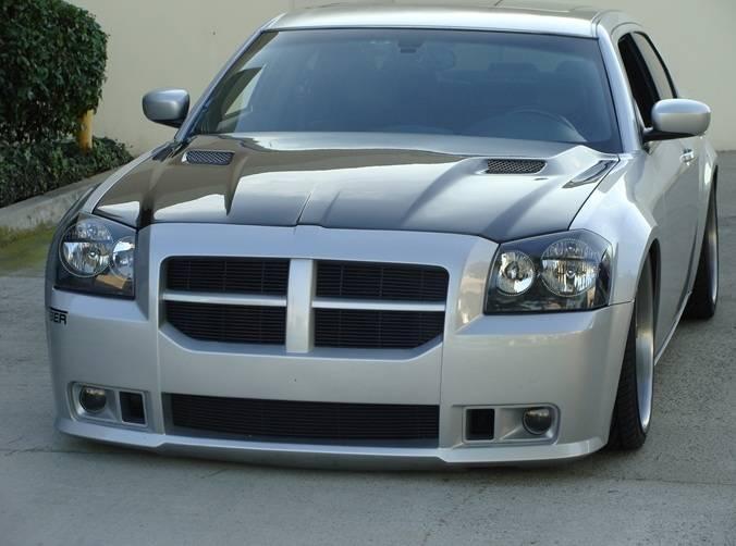 Trucarbon A58 Carbon Fiber Hood Dodge Magnum 2005 2007