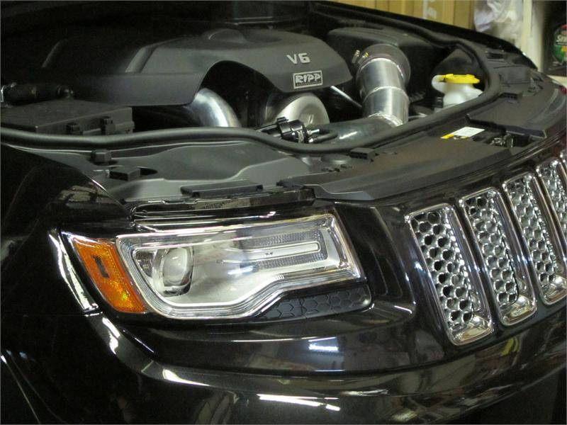 Dodge 5 7 Hemi >> Ripp Supercharger Kit: Jeep Grand Cherokee 3.6L V6 2011 - 2014