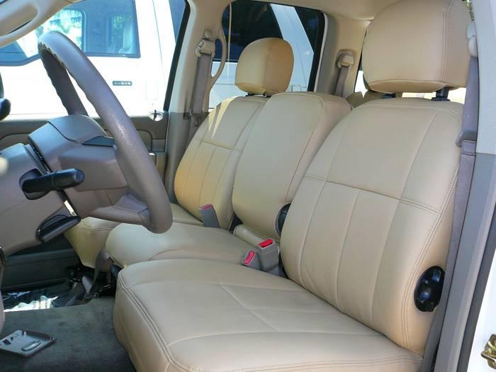 Clazzio Leather Seat Covers Dodge Ram 2011 2012 Crew