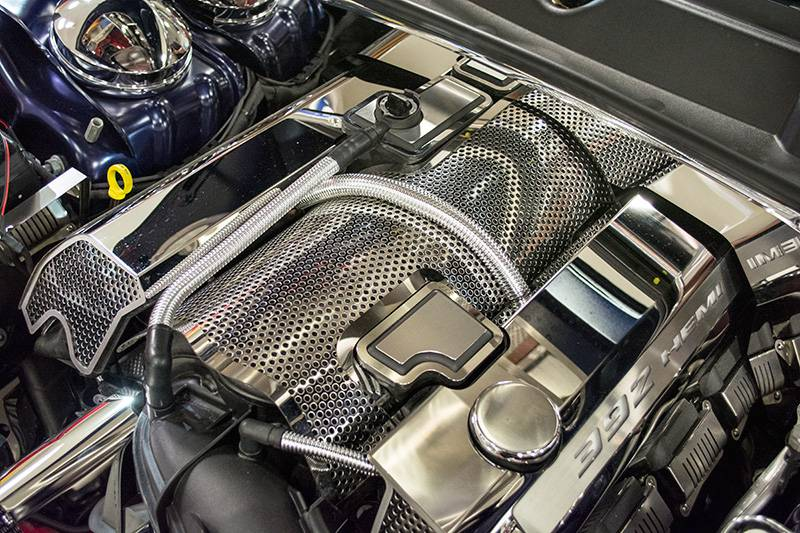 2017 Dodge Charger For Sale >> American Car Craft Perforated Plenum Cover: Chrysler 300C / Dodge Challenger / Charger / Grand ...