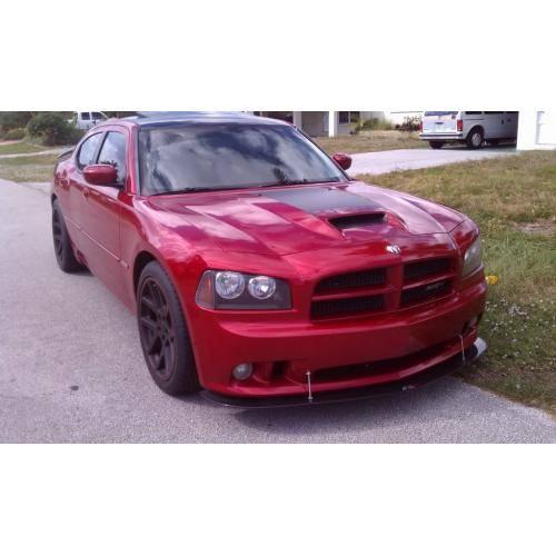 Charger Srt8 For Sale >> APR Carbon Fiber Front Wind Splitter w/ Rods: Dodge ...