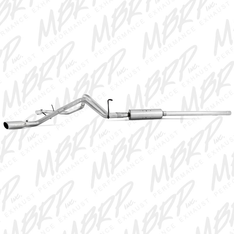 Mbrp Cat Back 3 Dual Split Side Exhaust Dodge Ram 5 7l