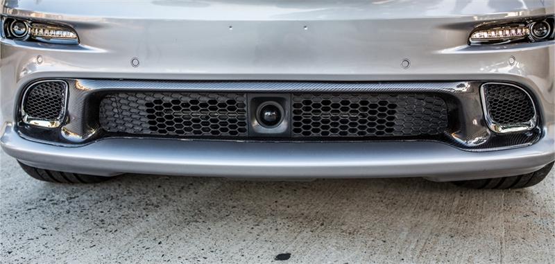 Trucarbon Lg193 Carbon Fiber Lower Grille Jeep Grand