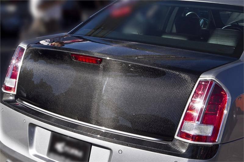 Trucarbon Cs6 Carbon Fiber Trunk Chrysler 300 300c 2005