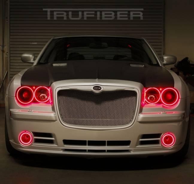 TruFiber A58 Fiberglass Hood: Chrysler 300 / 300C 2005
