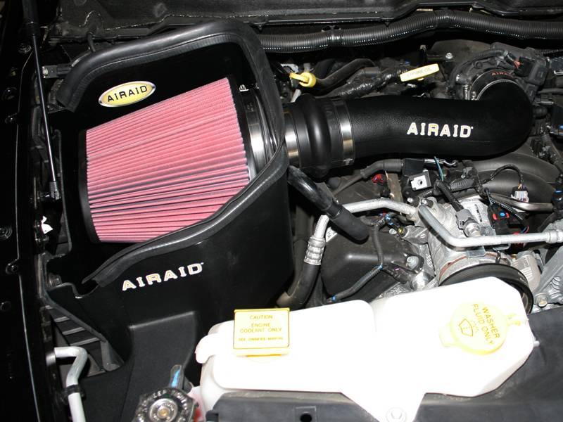 Airaid Cold Air Intake W Tube Dodge Ram 4 7l 2008 2012
