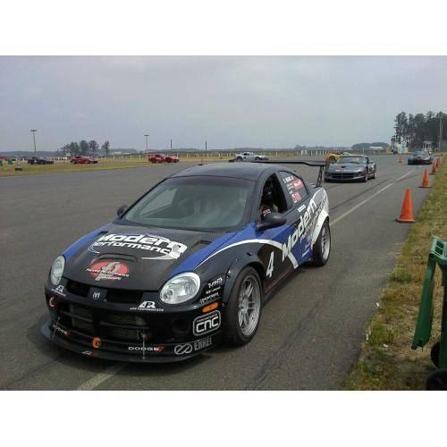 Apr Carbon Fiber Front Wind Splitter W Rods Dodge Neon Srt4 2003