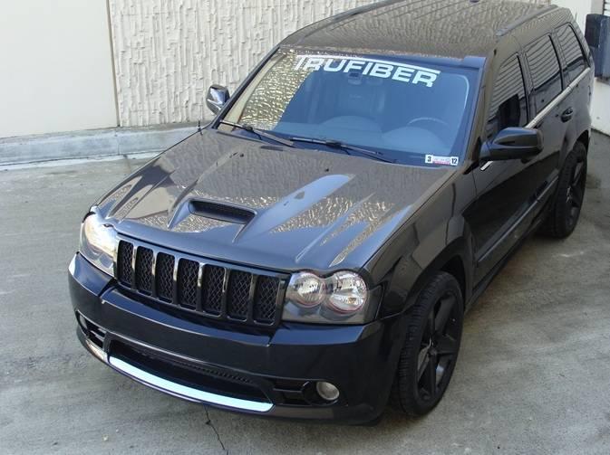 TruCarbon A23 Carbon Fiber Hood: Jeep Grand Cherokee 2005 ...