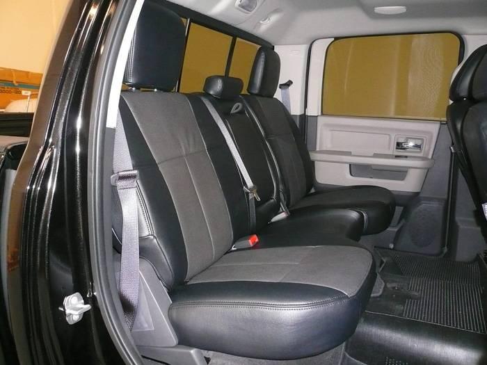 Clazzio Leather Seat Covers: Dodge Ram 2009 - 2010 (Crew ...
