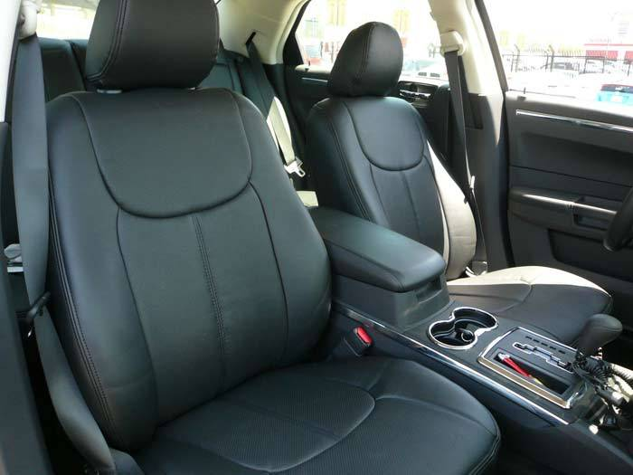 Clazzio Leather Seat Covers Dodge Charger 2011