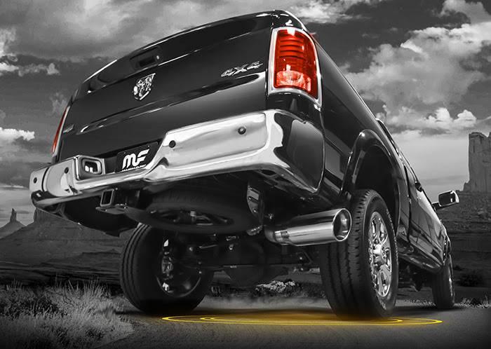 MagnaFlow Cat-Back Exhaust: Dodge Ram 2014 - 2018 6.4L 2500 / 3500
