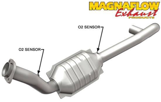 Magnaflow Catalytic Converter Driver Side Dodge Ram 2004 2005 57: 97 Dodge Ram Catalytic Converter At Woreks.co
