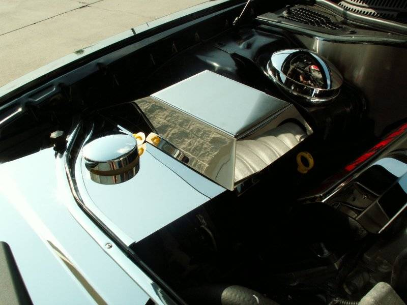 American Car Craft Polished Abs Cover W Cap Dodge