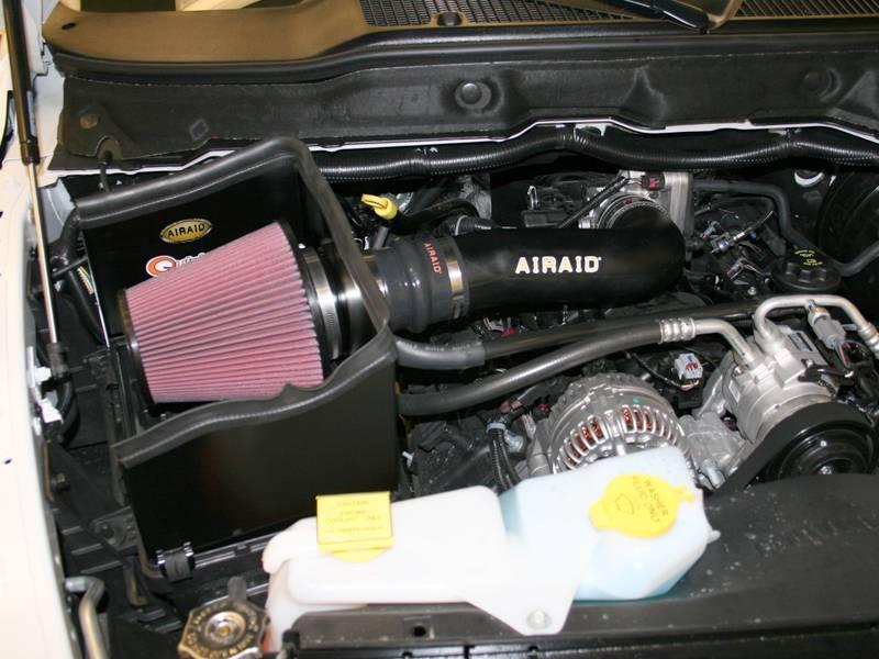 AirAid Cold Air Intake: Dodge Ram 5.7L Hemi 2006 - 2008