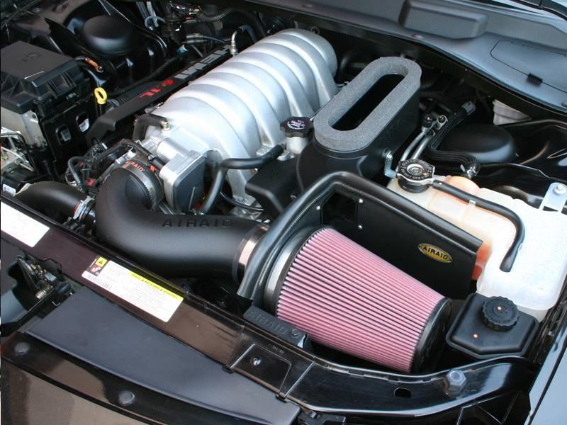 Airaid Cold Air Intake W Ram Air Scoop Adapter Dodge