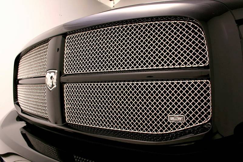 2012 Dodge Ram 1500 Headlights >> Grillcraft SW Series Stainless Upper Mesh Grille: Dodge ...