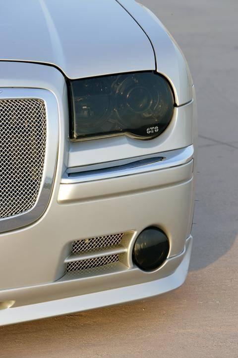 Gt Styling Smoke Headlight Covers Chrysler 300c 2005