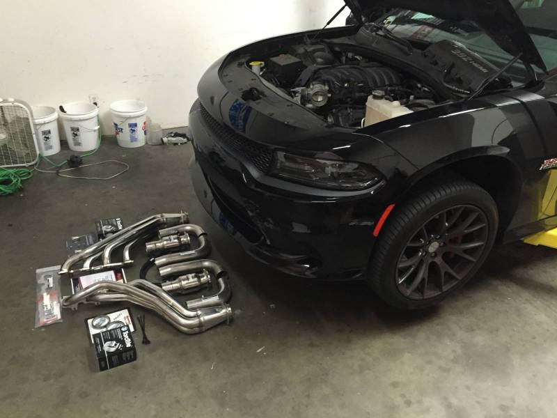 Dynatech Long Tube Headers Mid Pipes 300 Challenger Charger