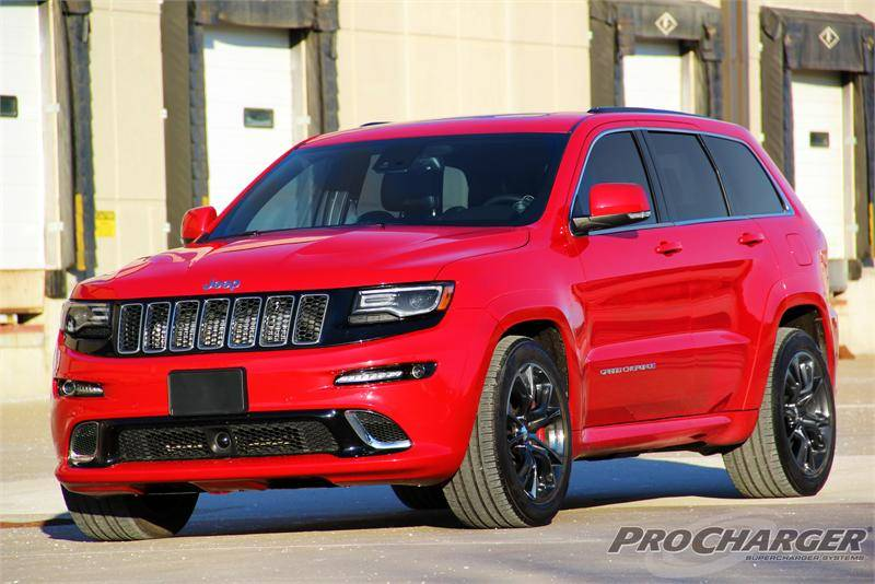 Procharger Supercharger Kit: Jeep Grand Cherokee 6.4L SRT ...
