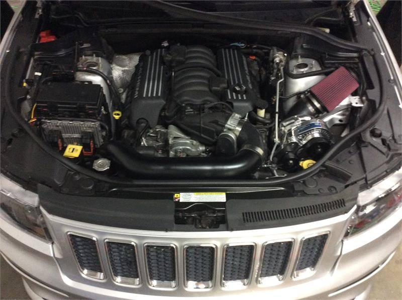 Cherokee Srt8 For Sale >> Procharger Supercharger Kit: Jeep Grand Cherokee 6.4L SRT 2015 - 2019