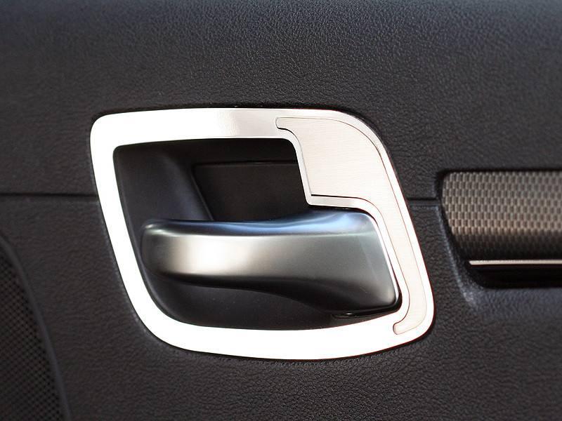 American Car Craft Rear Door Handle Pull Set Polished / Brushed ...
