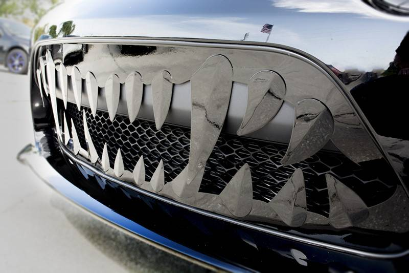 American Car Craft Sabretooth Grille Dodge Charger 6 2l Srt Hellcat