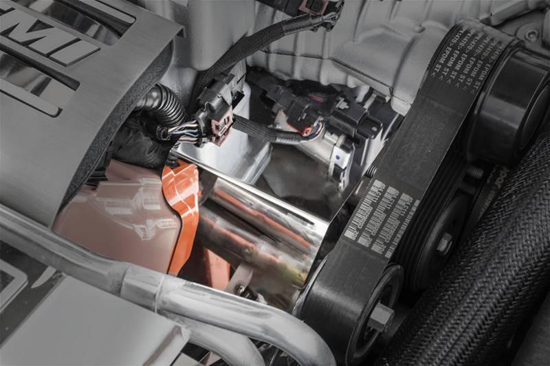 american car craft engine harness cover dodge challenger hellcat 2015 2018. Black Bedroom Furniture Sets. Home Design Ideas