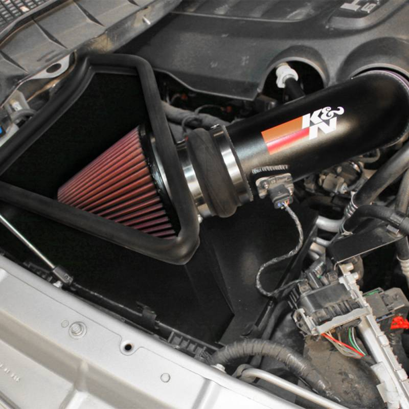 K&N 77 Series Cold Air Intake: Dodge Ram 2500 / 3500 6.4L 2014 - 2018