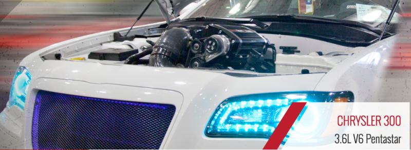 Sprintex Supercharger: Chrysler 300S 3 6L 2015 - 2017
