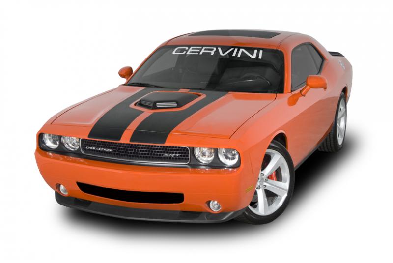 Cervinis Shaker Hood Kit Dodge Challenger 2008 2018