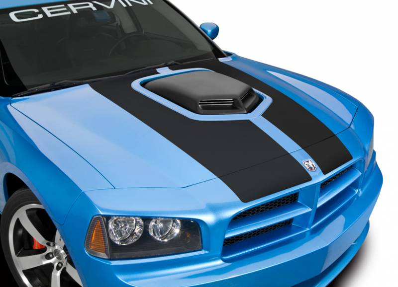 Cervinis Shaker Hood Kit Dodge Charger 2006 2010 All Models