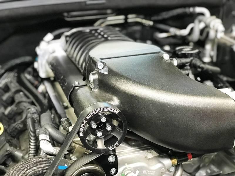 Whipple Supercharger Kit: Jeep Grand Cherokee 6 4L SRT 2015 - 2019