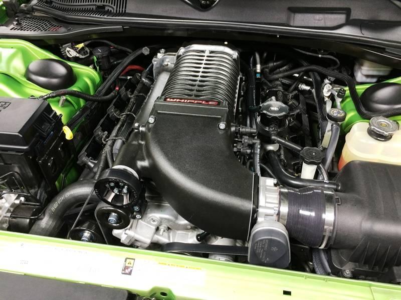 Whipple Supercharger Kit: Dodge Charger 6 4L 392 2015 - 2019 (SRT & Scat  Pack)