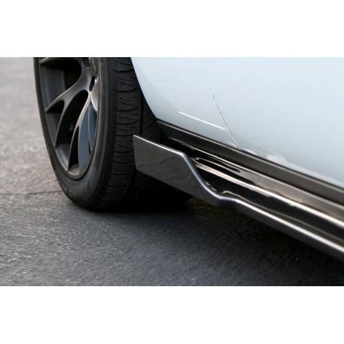 apr carbon fiber side skirts: dodge challenger