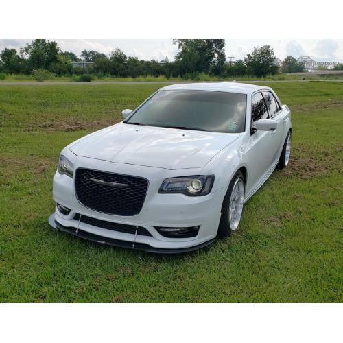APR Carbon Fiber Front Wind Splitter W/ Rods: Chrysler 300
