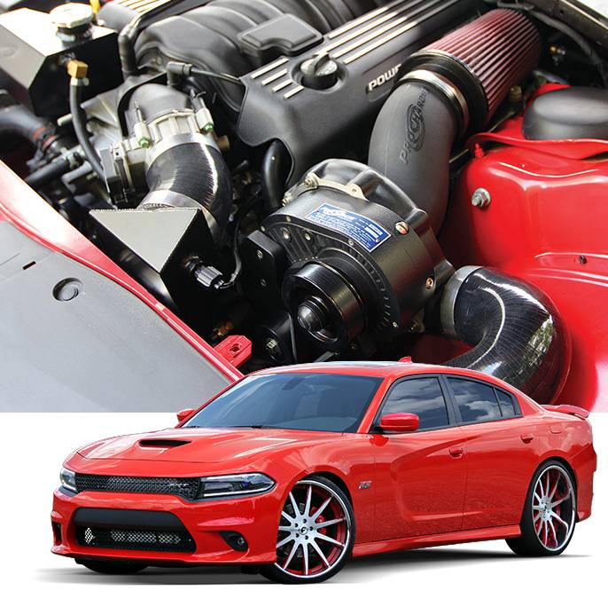 dodge charger scat pack turbo kit Procharger Supercharger Kit: Dodge Charger 1.1L 1 SRT / Scat Pack /  Daytona 1 - 1