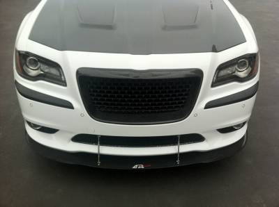 APR - APR Carbon Fiber Front Wind Splitter w/ Rods: Chrysler 300C SRT8 2012 - 2018