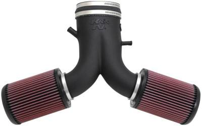 K&N Filters - K&N 57 Series FIPK Cold Air Intake: Dodge Viper SRT10 2003 - 2006