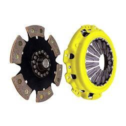 ACT - ACT 6-Puck Race Clutch Kit (Heavy Duty Pressure Plate / Solid Hub): Dodge Neon SRT4 2003 - 2005