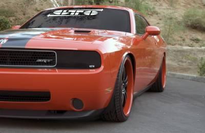 I on Dodge Dakota Headlight Covers