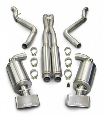 Corsa - Corsa Performance Exhaust: Dodge Challenger R/T 2009 - 2014 (Manual Only)
