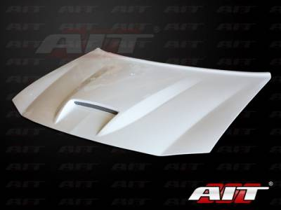 AIT Racing - AIT Racing SRT Style Functional Cooling Hood: Dodge Charger 2006 - 2010