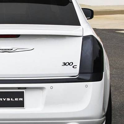 GTS - GT Styling Smoke Tail Light Covers: Chrysler 300 2011 – 2014
