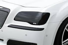 GTS - GT Styling Smoke Headlight Covers: Chrysler 300 2011 - 2014