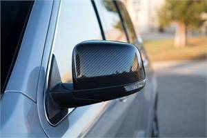 TruCarbon - TruCarbon LG188 Carbon Fiber Mirror Covers: Jeep Grand Cherokee 2011 - 2016