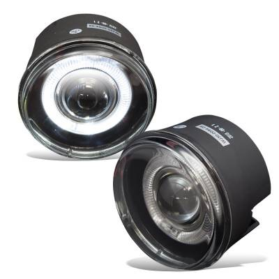 Winjet - Winjet Halo Projector Fog Lights: Chrysler 300C 2005 - 2010 (exc Touring)